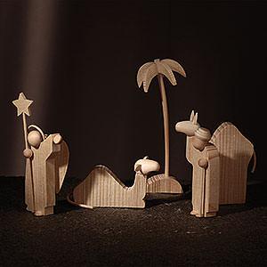 Small Figures & Ornaments Günter Reichel Nativity The Annunciation - 8 cm / 3.1 inch