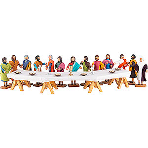 Small Figures & Ornaments everything else The Lord's Supper - 14 pieces - 8 cm / 3.1 inch
