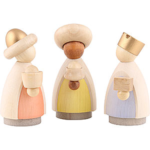 Small Figures & Ornaments Nativity Scenes The Three Wise Men Colored - 7 cm / 2.8 inch