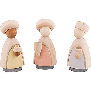 Small Figures & Ornaments Nativity Scenes The Three Wise Men - Colored - Large - 9,5 cm / 3.7 inch