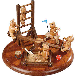 Music Boxes All Music Boxes Theme Platform for Electr. Music Box 'Bear Playground' - 15 cm / 5.9 inch