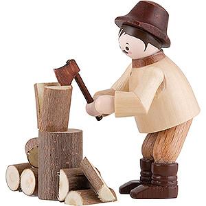 Kleine Figuren & Miniaturen Thiel-Figuren Thiel-Figur Holzhacker - natur - 5,5 cm