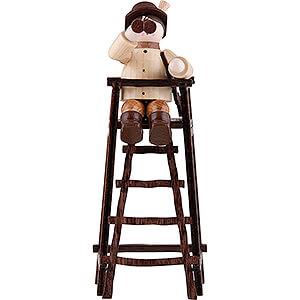 Kleine Figuren & Miniaturen Thiel-Figuren Thiel-Figur Jäger auf Hochstand - natur - 11 cm