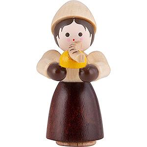 Kleine Figuren & Miniaturen Thiel-Figuren Thiel-Figur Mädchen mit Bratwurst - natur - 4 cm