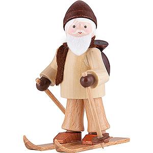 Kleine Figuren & Miniaturen Thiel-Figuren Thiel-Figur Ruprecht auf Ski - natur - 6 cm