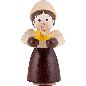 Small Figures & Ornaments Thiel Figurines Thiel Figurine - Girl with Bratwurst - natural - 4 cm / 1.6 inch