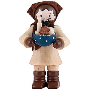 Small Figures & Ornaments Thiel Figurines Thiel Figurine - Woman with Bowl - 6 cm / 2.4 inch