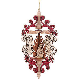 Tree ornaments All tree ornaments Tree Ornament - Angel with Bell - Nativity - 15 cm / 5.9 inch