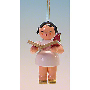 Tree ornaments All tree ornaments Tree Ornament - Angel with Book - Red Wings - 9,5 cm / 3.7 inch