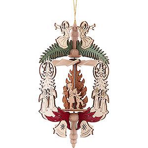 Tree ornaments All tree ornaments Tree Ornament - Angel with Fir Tree - Christmas Eve - 14,5 cm / 5.7 inch