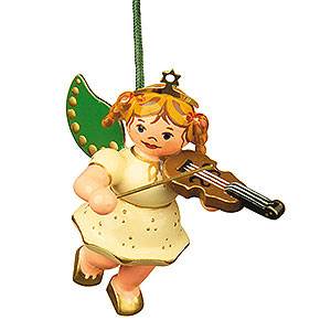 Tree ornaments Angel Ornaments Floating Angels Tree Ornament - Angel with Violin - 6 cm / 2,5 inch