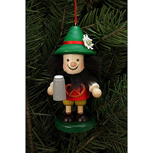 Tree ornaments Dwarfs & others Tree Ornament - Bavarian - 10,5 cm / 4 inch