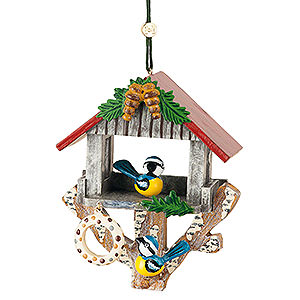 Tree ornaments Misc. Tree Ornaments Tree Ornament - Bird House - 8,5 cm / 3,3 inch
