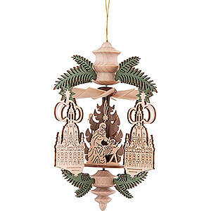 Tree ornaments All tree ornaments Tree Ornament - Branch Church of Our Lady - Nativity - 13 cm / 5.1 inch