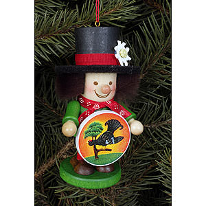 Tree ornaments Dwarfs & others Tree Ornament - Champion Marksman - 10,5 cm / 4 inch
