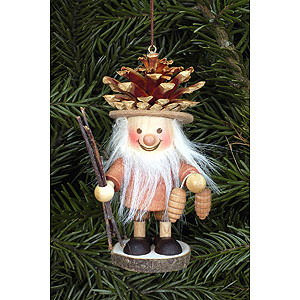 Tree ornaments Dwarfs & others Tree Ornament - Coneman Natural - 10,5 cm / 4 inch