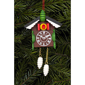 Tree ornaments Misc. Tree Ornaments Tree Ornament - Cuckoo Clock - 5,7x8,8 cm / 2x3 inch