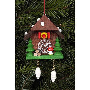 Tree ornaments Toy Design Tree Ornament - Cuckoo Clock - 5,8 cm / 2.3 inch
