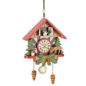 Tree ornaments Misc. Tree Ornaments Tree Ornament - Cuckoo Clock Forest - 10 cm / 3,9 inch