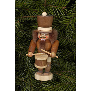 Tree ornaments Dwarfs & others Tree Ornament - Drummer Natural - 10,5 cm / 4 inch