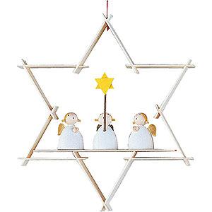 Tree ornaments Moon & Stars Tree Ornament - Gaurdian Angel - 9,5 cm / 3.7 inch