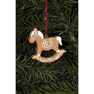 Tree ornaments Ginger Bread Design Tree Ornament - Ginger Bread Horse Small Brown - 4,7x4,8 cm / 1.9x1.9 inch