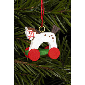 Tree ornaments Toy Design Tree Ornament - Horse Mini - 2,5 / 2,2 cm - 1x1 inch