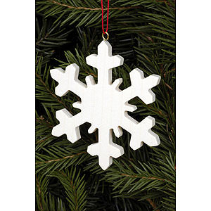 Tree ornaments Misc. Tree Ornaments Tree Ornament - Icecrystal Natural - 6,6x6,6 cm / 2.6x2.6 inch