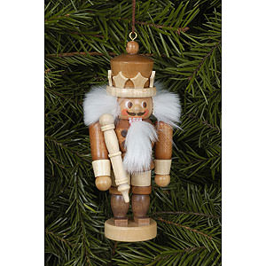Tree ornaments Dwarfs & others Tree Ornament - King Natural - 10,5 cm / 4 inch