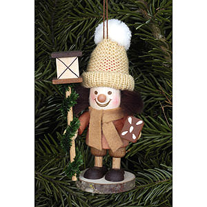 Tree ornaments Dwarfs & others Tree Ornament - Lanternman Natural - 11,5 cm / 5 inch