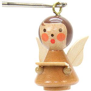 Tree ornaments Angel Ornaments Misc. Angels Tree Ornament - Mini-Angel Natural Colors - 1,7x2,5 cm / 1x1 inch