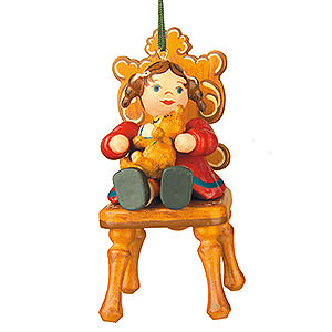 Tree ornaments Toy Design Tree Ornament - My Favourite Teddy - 7,5 cm / 3 inch