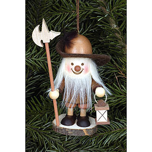 Tree ornaments Dwarfs & others Tree Ornament - Nightwatchman Natural - 9,6 cm / 4 inch