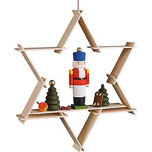 Tree ornaments Moon & Stars Tree Ornament - Nutcracker - 9,5 cm / 3.7 inch