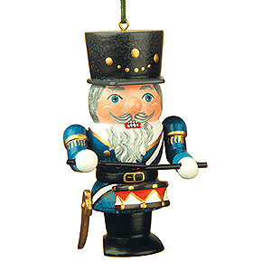 Tree ornaments Dwarfs & others Tree Ornament - Nutcracker Drummer - 7 cm / 3 inch