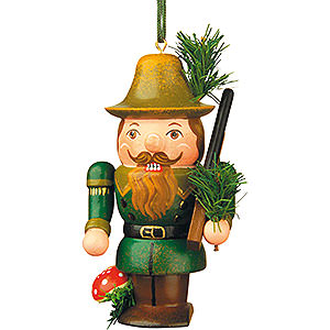 Tree ornaments Dwarfs & others Tree Ornament - Nutcracker Forester - 7 cm / 3 inch