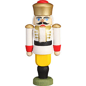 Tree ornaments Christmas Tree Ornament - Nutcracker - King White - 9 cm / 3.5 inch