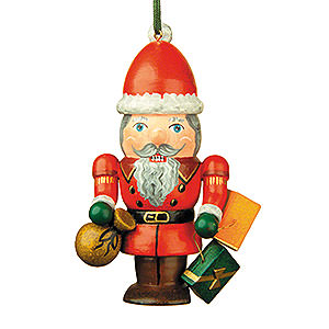 Tree ornaments Dwarfs & others Tree Ornament - Nutcracker Santa - 7 cm / 3 inch
