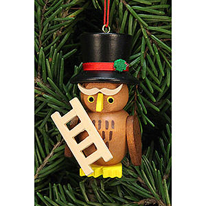 Tree ornaments Misc. Tree Ornaments Tree Ornament - Owl Chimney Sweep - 3,2x6,2 cm / 1.3x2.4 inch