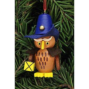 Tree ornaments Misc. Tree Ornaments Tree Ornament - Owl Nightwatchman - 3,2x6,2 cm / 1.3x2.4 inch
