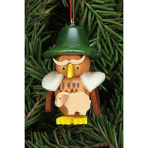 Tree ornaments Misc. Tree Ornaments Tree Ornament - Owl Shepherd - 3,2x5,9 cm / 1.2x2.3 inch