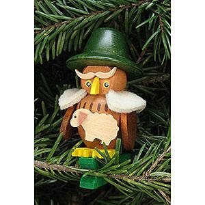 Tree ornaments Misc. Tree Ornaments Tree Ornament - Owl Shepherd on Clip - 5,3x7,0 cm / 2.1x2.8 inch