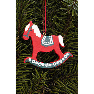 Tree ornaments Toy Design Tree Ornament - Pferd Gross - 6,2x6,5 cm / 2.4x2.5 inch