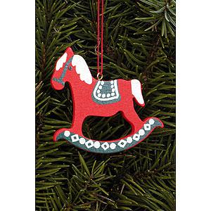 Tree ornaments Toy Design Tree Ornament - Pferd Gross - 6,2x6,5 cm / 2.4x2.5 inch