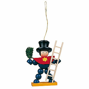 Tree ornaments Christmas Tree Ornament - Plum Man Colored - 8 cm / 3.1 inch
