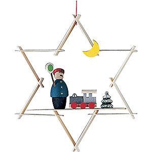 Tree ornaments Toy Design Tree Ornament - Rail Road - 9,5 cm / 3.7 inch