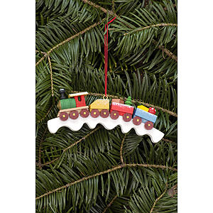 Tree ornaments Toy Design Tree Ornament - Railroad - 11,0x4,1 cm / 4.3x1.6 inch