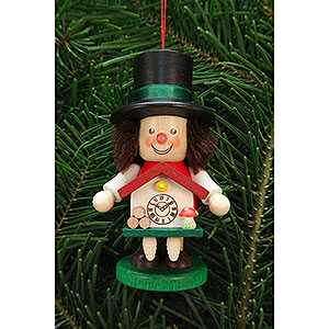 Tree ornaments Dwarfs & others Tree Ornament - Rascal Black Forester - 10,5 cm / 4.1 inch