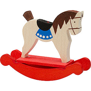 Tree ornaments Toy Design Tree Ornament - Rocking Horse - 5 cm / 2 inch