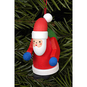 Tree ornaments Santa Claus Tree Ornament - Santa Claus - 2,5x5,0 cm / 1x2 inch